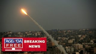 Incoming Rocket Sirens in Israel - LIVE BREAKING NEWS COVERAGE 7/13/18
