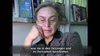 Anna Politkovskaya Opfer des Putin-Regimes / Анна Политковская жертва путинского режима