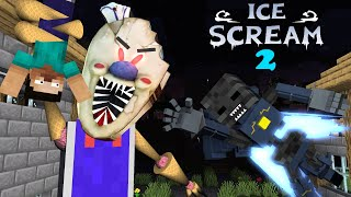 MONSTER SCHOOL : ICE SCREAM ROD PART 2 - Minecraft Animation