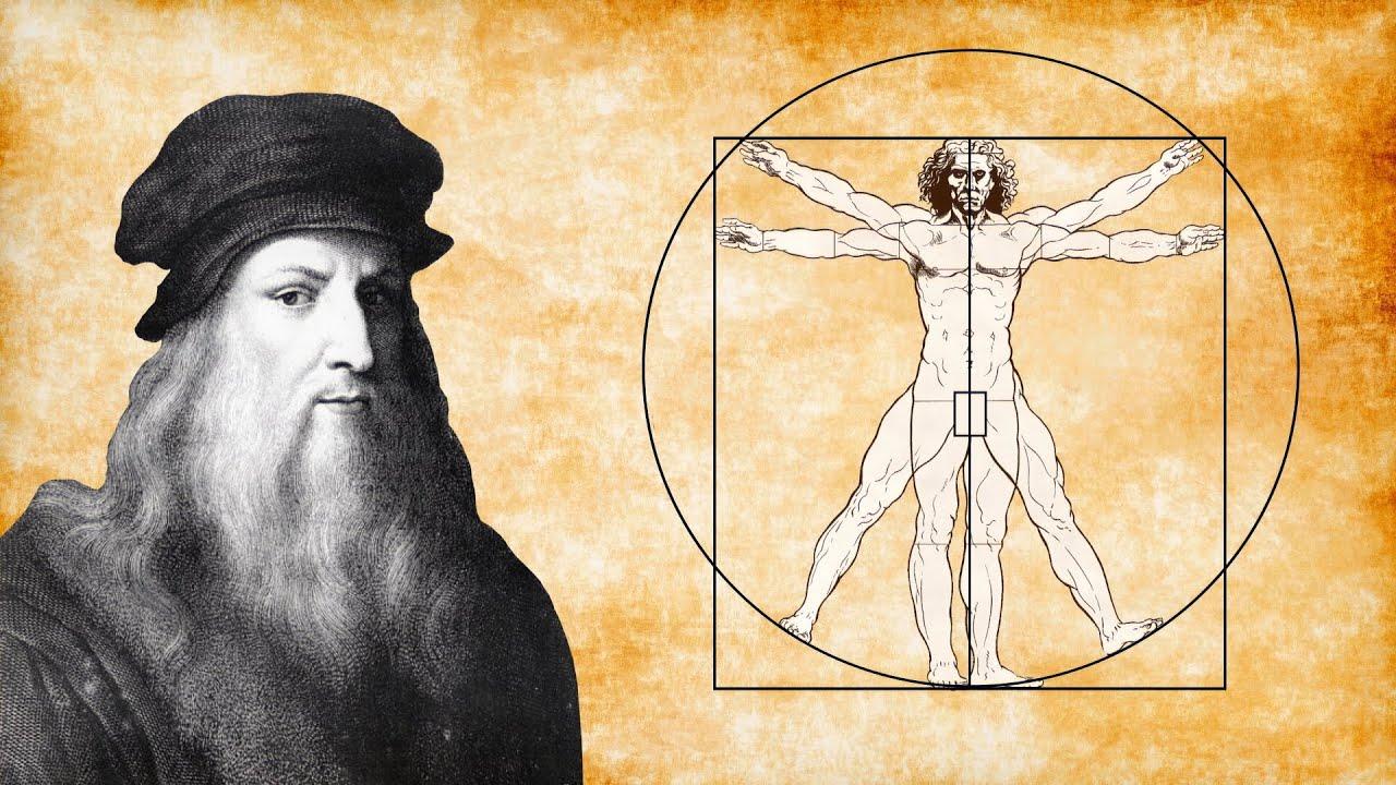 Vitruvian man || Leonardo da Vinci - YouTube