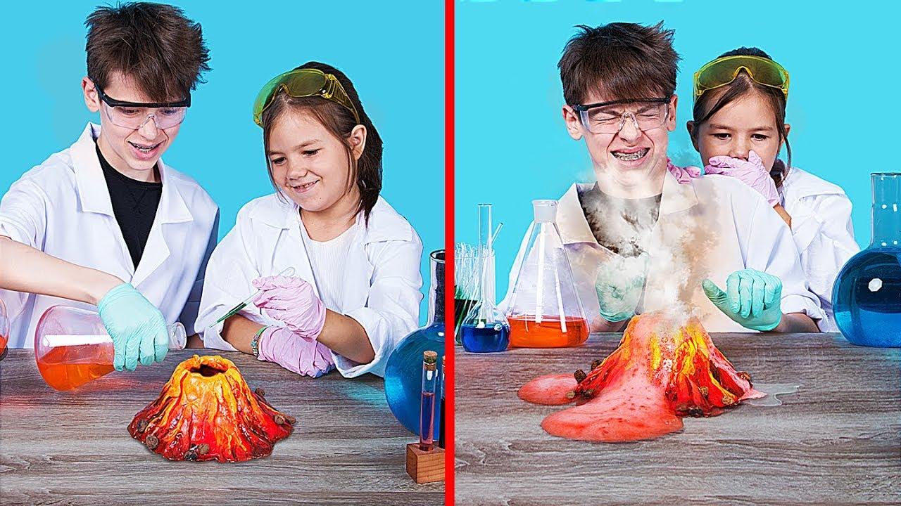 16 крутых экспериментов в домашних условиях