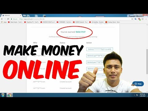 I earn P750 total of P9650 Make Money Online Philippines