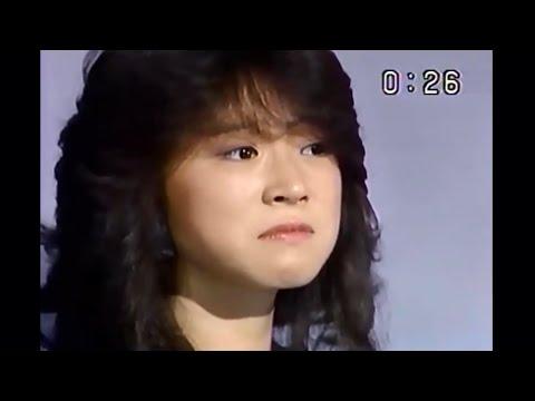 【泣き顔】中森明菜「北ウイング」1984年