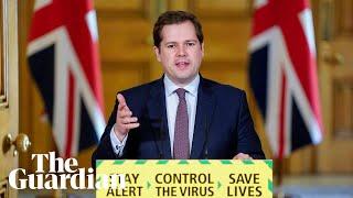 Coronavirus: Robert Jenrick holds UK daily briefing – watch live