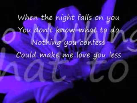Ill Stand  You with lyrics