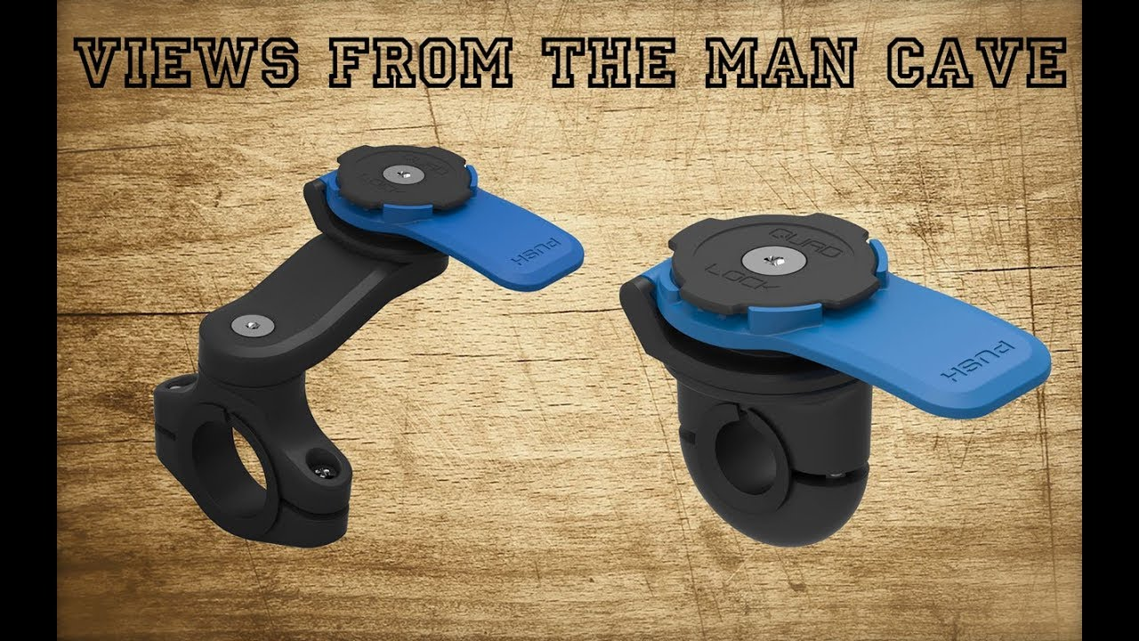 Quadlock Motorcycle Mirror Mount Review Plus A Great Free Sat