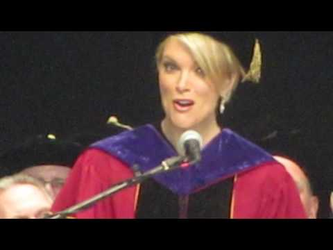 "Megyn Kelly sings ""Today"" by John Denver for Albany Law School graduates"