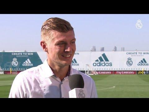 Entrevista en español de Toni Kroos para RMTV.