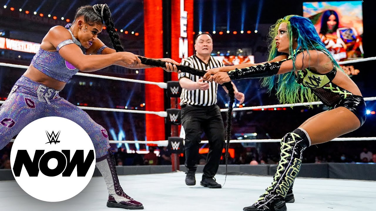 Full WrestleMania 37 – Night 1 results: WWE Now