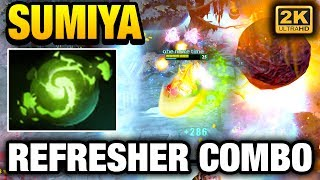 SUMiYa Invoker Double Meteor Refresher Combo Dota 2