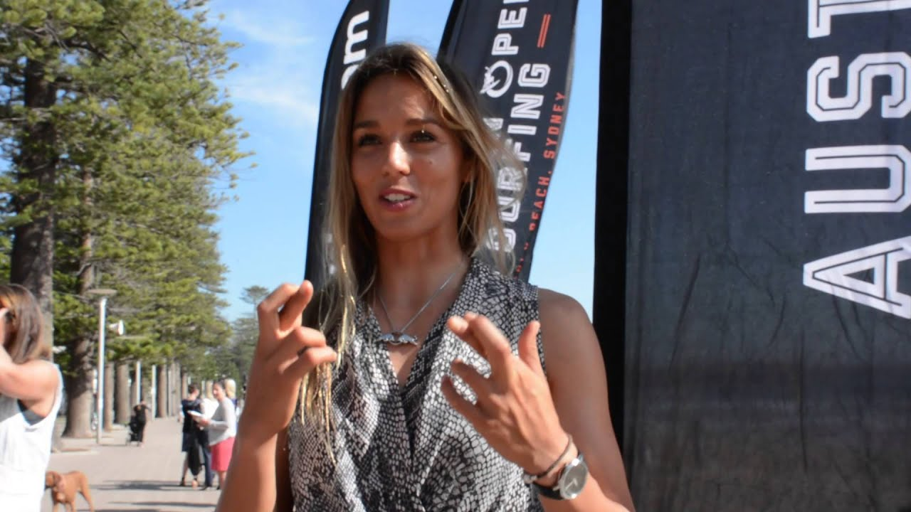 Sally Fitzgibbons On The 2015 Hurley Australian Open Of Surfing