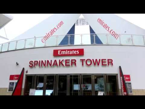 The Emirates Spinnaker Tower