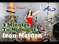2 Minutes to Midnight drum cover by Ami Kim (#62)