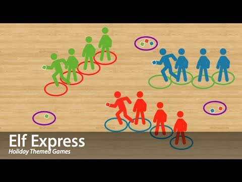 Elf Express - Physical Education Game (Cooperation)