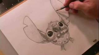 How to Draw Stitch Featuring Hawaiian Roller Coaster Ride