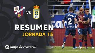Resumen de SD Huesca vs Real Oviedo (3-1)