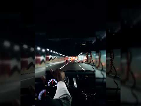 The Most Beautiful Road/ Way to Clock tower Dubai/Beautiful Tunnel|Underpas on it