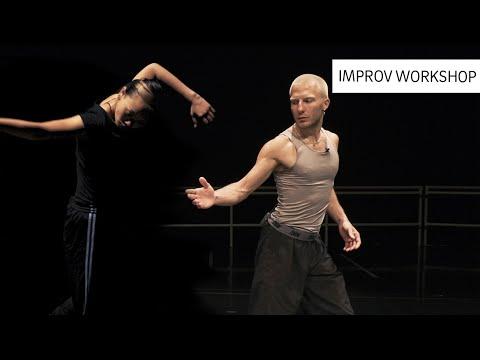 Improvisation workshop by NDT dancers Luca Tessarini and Nicole Ishimaru - ABN AMRO x NDT