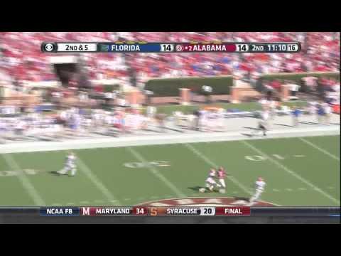 Amari Cooper - Alabama vs Florida, 2014