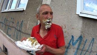 На что готов мужик ради 300 руб / Торт с горчицей + Селёдка