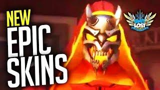 Overwatch - DEVIL REAPER New EPIC Skins Revealed