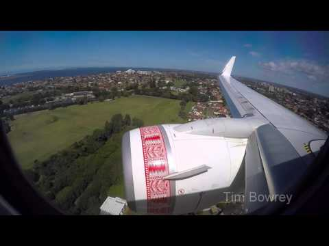 Virgin Samoa Boeing 737-800 Landing in Sydney