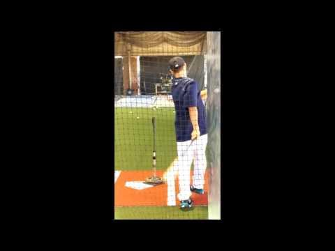 青木宣親 ~ 日本NPB職棒養樂多燕子隊超級明星實戰用美國MLB西雅圖水手隊New Balance比賽用釘鞋 ~ 極稀少
