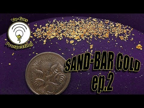 Sand Bar Gold Ep.2 Seeking a New Deposit.