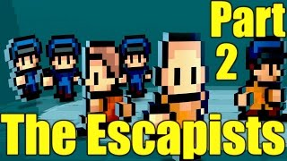 The Escapists Gameplay Playthrough Part 2 - Flush the Weapon (PC)
