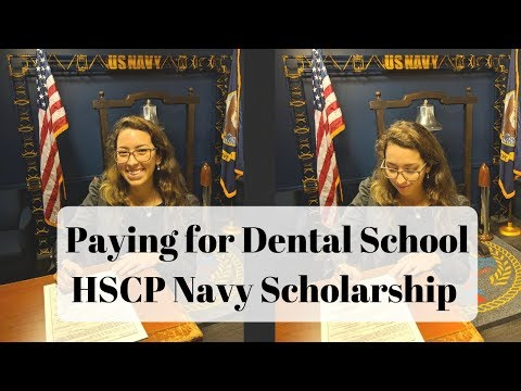Dental School HSCP Navy Scholarship: HOW MUCH I GET PAID.