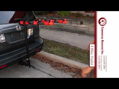 CBI 4 Bike Carrier Trailer Hitch Mount SUV Truck