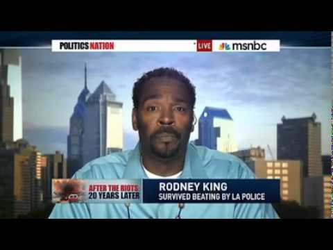 Rodney King Reflects, 20 years After Brutal, Racist Police Beating L A  Riots Rodney King death