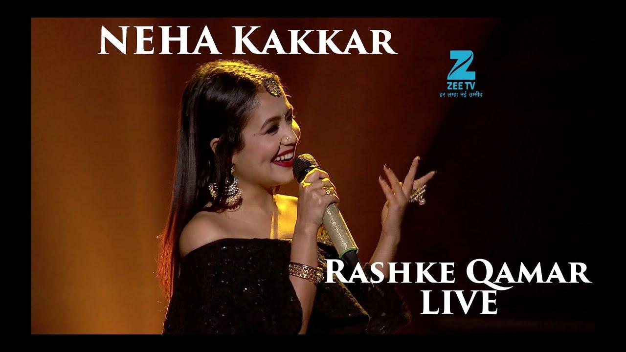 Neha Kakkar Rashke Qamar Live Riya Saregamapa Lil Champs Youtube