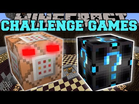 Minecraft: COMMAND BLOCK CHALLENGE GAMES - Lucky Block Mod - Modded Mini-Game