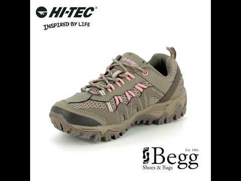 9cb0a033 Hi-Tec Jaguar Womens 0003-43 Taupe multi Walking Shoes