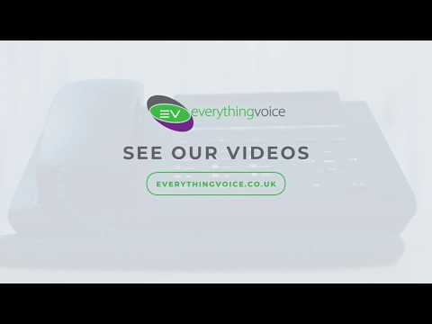 Unify Deskphone CP200 Training Video - Setup and Access Voicemail