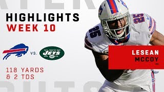 LeSean McCoy Highlights vs. Jets