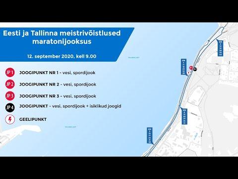 Eesti ja Tallinna meistrivõistlused maratonijooksus 2020