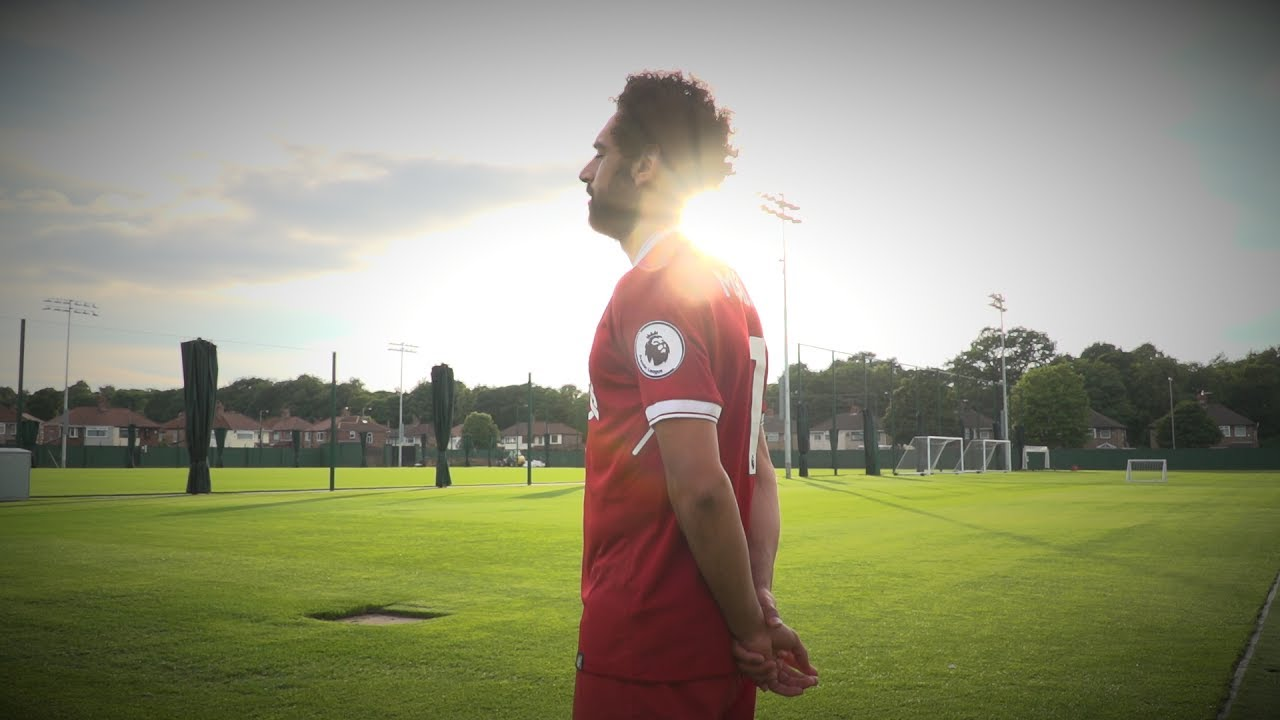 pretty nice 5615b cdd59 Welcome to Liverpool: Mohamed Salah | First look Melwood, Anfield & the new  kit