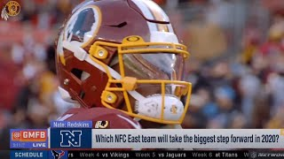 Which NFC East Team Will Take Biggest Step Forward in 2020? | Redskins, Giants, Eagles, Cowboys GMFB