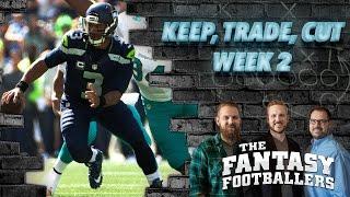 Fantasy Football 2016 - Keep, Trade, Cut + #FootClan Mailbag - Ep. #264