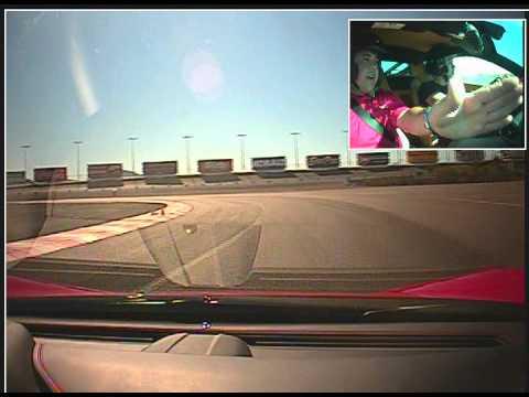 Driving the Ferrari 458 Italia in Vegas