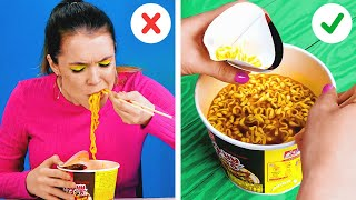 Genius Hacks For Food Lovers || New Kitchen Tricks That Will Change Your Life!