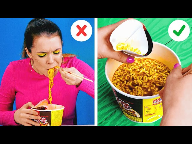 Genius Hacks For Food Lovers    New Kitchen Tricks That Will Change Your Life!