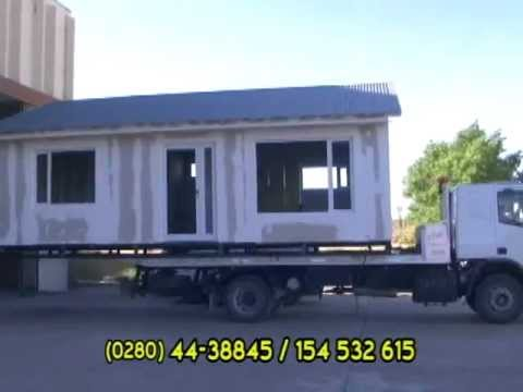 Casas Modulares Transportables - YouTube