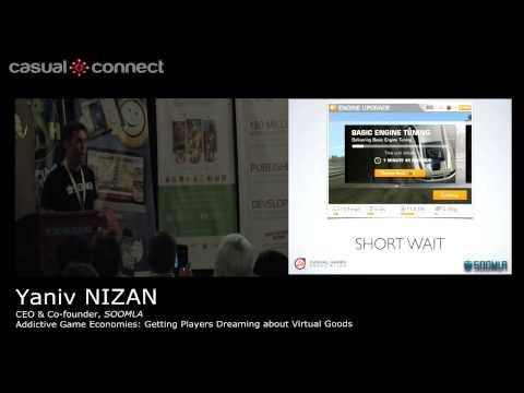 Addictive Game Economies: Getting Players Dreaming about Virtual Goods | Yaniv NIZAN