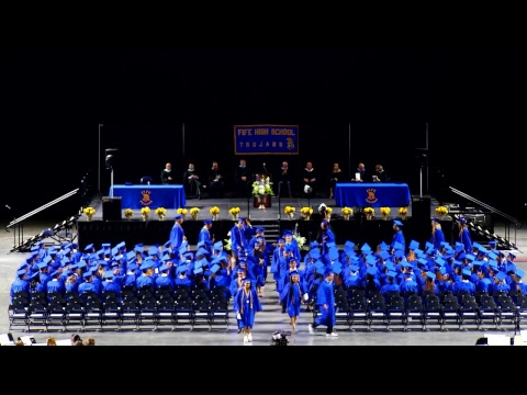 Fife High School Graduation 2017