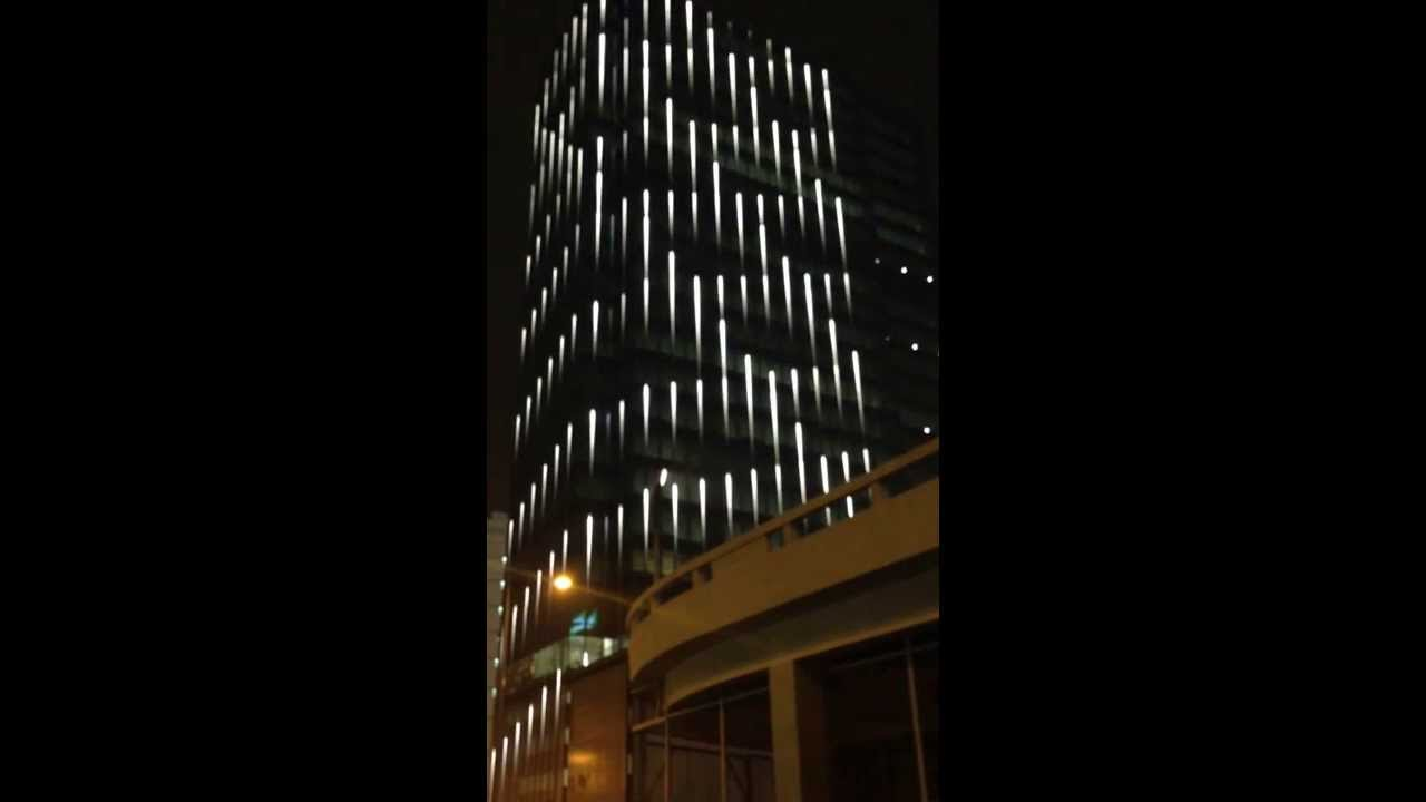 One Waterfront Led Facade Lighting Youtube