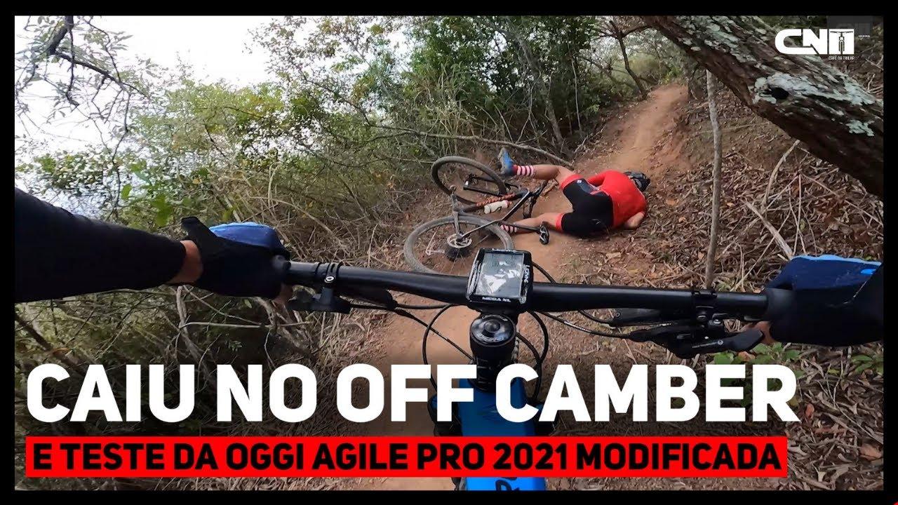 Caiu no Off Camber e Mountain Bike Oggi Agile Pro modificada   Café na Trilha