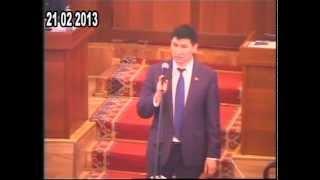 Обрашение Садыра Жапарова к парламенту